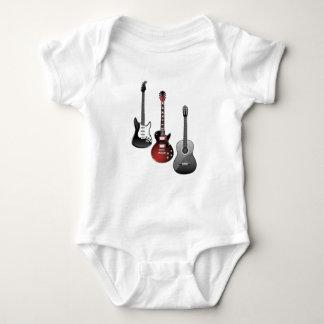 Body Para Bebê guitarra elétrica, guitarra acústica