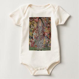 Body Para Bebê Gustavo Klimt - arte da cerveja de Fredericke