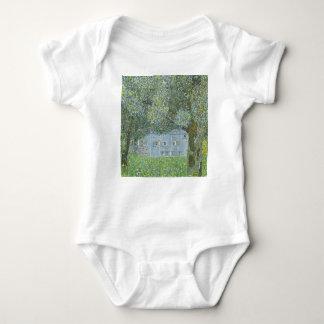 Body Para Bebê Gustavo Klimt - Bauerhaus na pintura de Buchberg