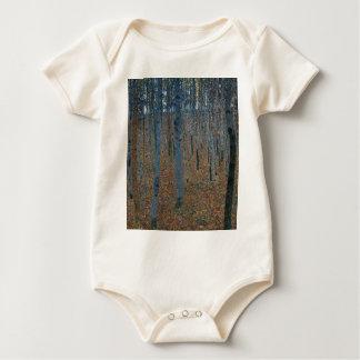 Body Para Bebê Gustavo Klimt - bosque da faia. Animais selvagens