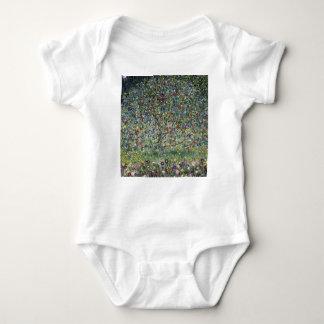 Body Para Bebê Gustavo Klimt - pintura da árvore de Apple