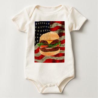 Body Para Bebê Hamburger