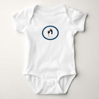 Body Para Bebê HAMbWG - pegadas de HAMbWG w do bebê