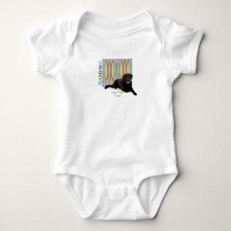 """Body Para Bebê HAMbWG - t-shirt - bastão do """""""" de Corso do bastão"""