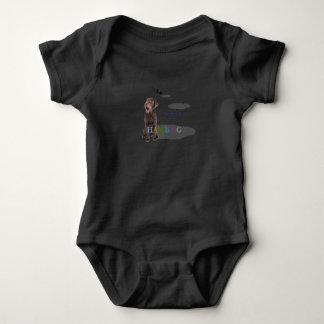 """Body Para Bebê HAMbWG - t-shirt - laboratório """"Zeus """" do"""