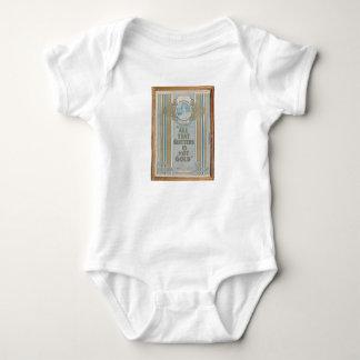 Body Para Bebê HAMbyWG - tudo que o brilho não é ouro