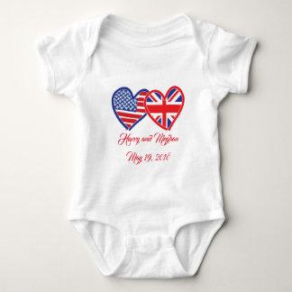 Body Para Bebê Harry e Meghan