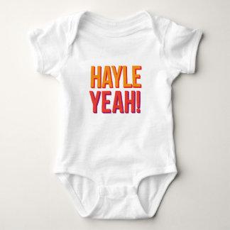 Body Para Bebê Hayle yeah!