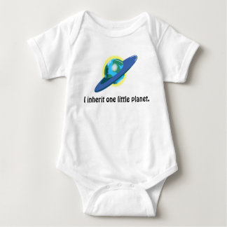 Body Para Bebê HERDE A TERRA por Jetpackcorps