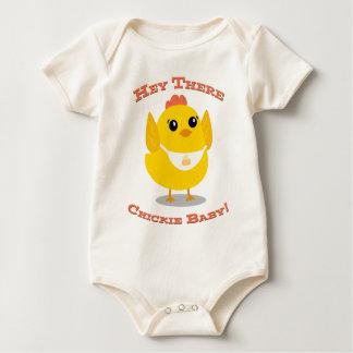 Body Para Bebê Hey lá bebê de Chickie - Bodysuit orgânico