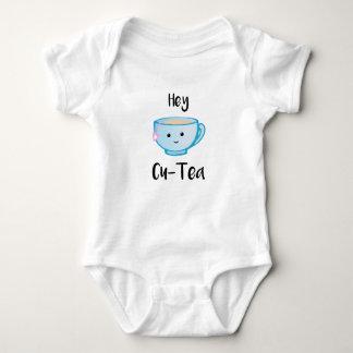 Body Para Bebê Hey terno do corpo do Cu-Chá