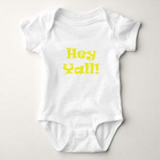 Body Para Bebê Hey Yall