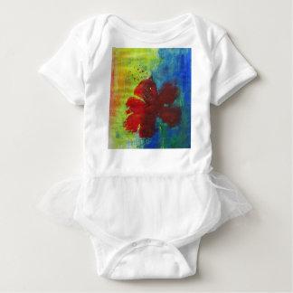 Body Para Bebê hibiscus