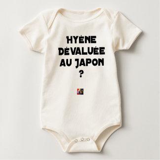 Body Para Bebê HIENA DESVALORIZADA AO JAPÃO? - Jogos de palavras