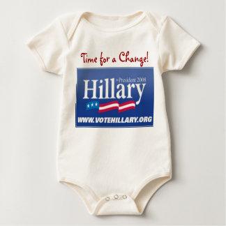 Body Para Bebê Hillary '08