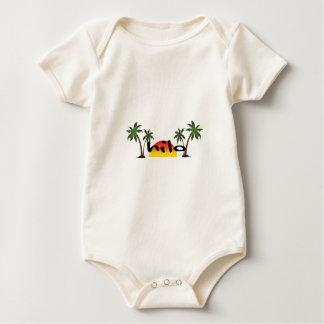 Body Para Bebê Hilo Havaí