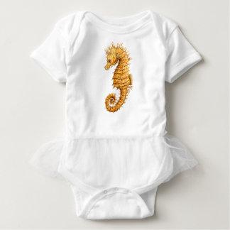 Body Para Bebê Hipocampo do hipocampo do cavalo de mar