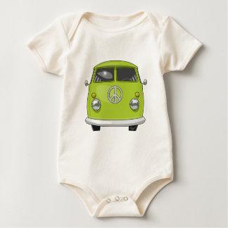 Body Para Bebê Hippie 1960 Van