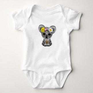 Body Para Bebê Hippie bonito do Koala do bebê