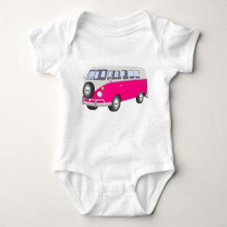 Body Para Bebê Hippie Van Bebê