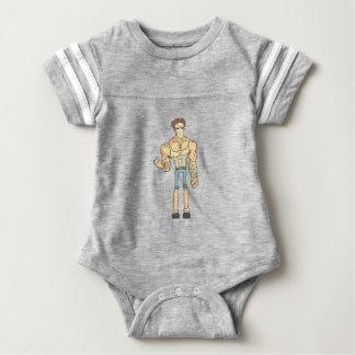 Body Para Bebê História em quadrinhos esboçada do assassino em