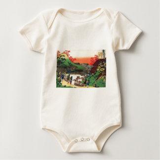 Body Para Bebê Hokusai - arte japonesa - Japão