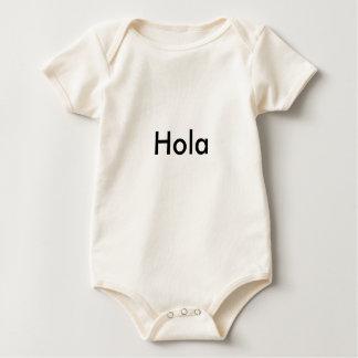 Body Para Bebê Hola