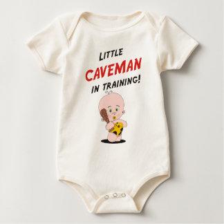 Body Para Bebê Homem das cavernas pequeno no treinamento!
