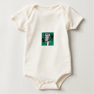 Body Para Bebê homem de ciência louco