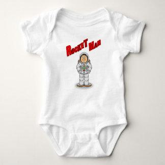 Body Para Bebê Homem de Rocket