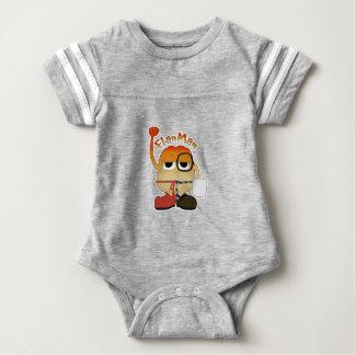 Body Para Bebê Homem do Flan