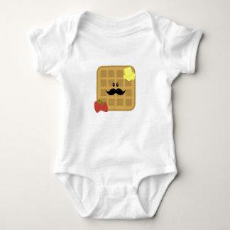 Body Para Bebê Homem do Waffle