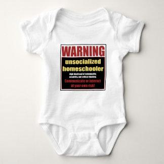 Body Para Bebê homeschooler unsocialized