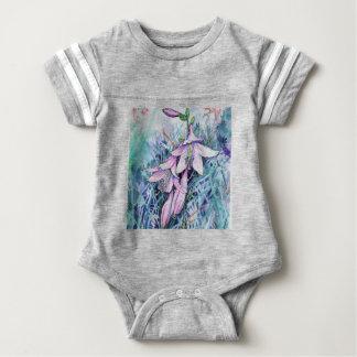 Body Para Bebê Hosta na flor