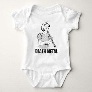 Body Para Bebê Humor engraçado do metal pesado do gênero da