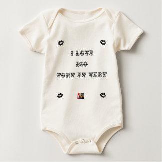 Body Para Bebê I bobina Biológico (EXTREMAMENTE E VERDE) - Jogos