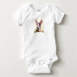 Body Para Bebê I love bullterrier