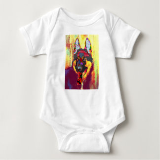 Body Para Bebê I love pastor