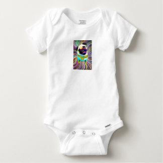 Body Para Bebê I love PUG