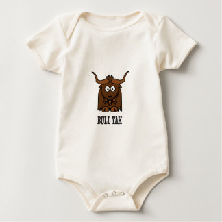 Body Para Bebê iaques do touro