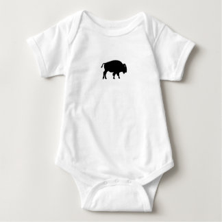 Body Para Bebê Ícone do bisonte americano