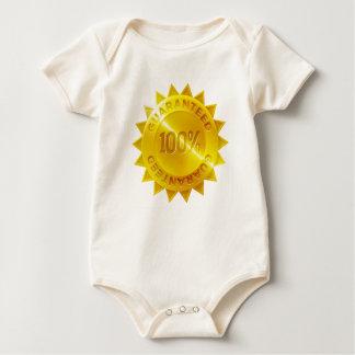 Body Para Bebê Ícone garantido da medalha de ouro de 100 por