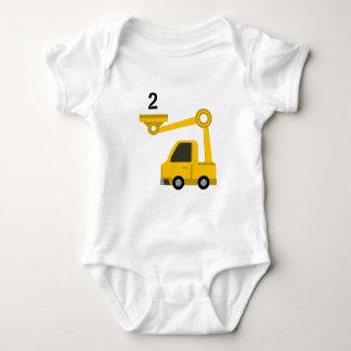 Body Para Bebê Idade 2 da veste do escavador