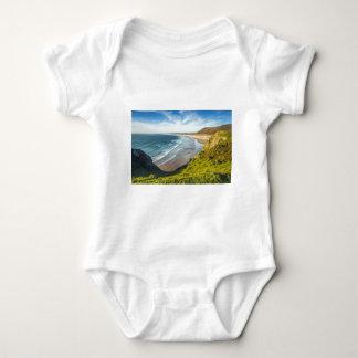 Body Para Bebê Ideia cénico da paisagem contra o céu