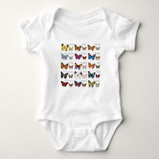 Body Para Bebê Identificação da borboleta