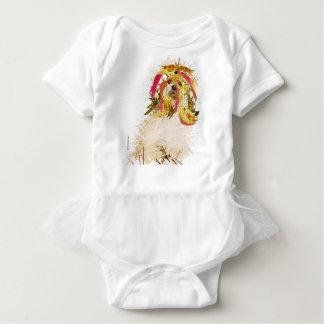 Body Para Bebê Il Love Lhasa apso