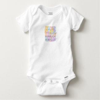 Body Para Bebê ILOVE o 10:27 do SENHOR Luke