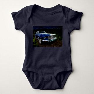 Body Para Bebê Iluminação do carro