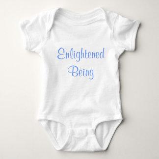 Body Para Bebê Iluminado sendo onzie engraçado do bebê