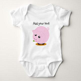 Body Para Bebê Ilustração bonito do estilo dos desenhos animados